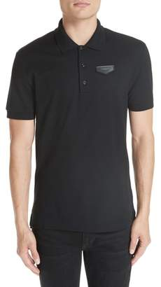 Givenchy Triangle Logo Polo Shirt