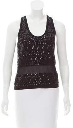 Sonia Rykiel Sleeveless Embellished Top