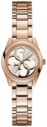 GUESS W1147L3 Micro G Twist Rose Gold Watch