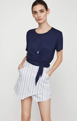 BCBGMAXAZRIA Beckett Striped Miniskirt