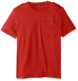 Sean John Men's Short Sleeve Flight Knit Shirt