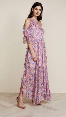 Philosophy di Lorenzo Serafini Star Print Asymmetrical Dress