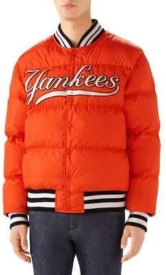 Gucci New York YankeesTM Baseball Bomber Jacket