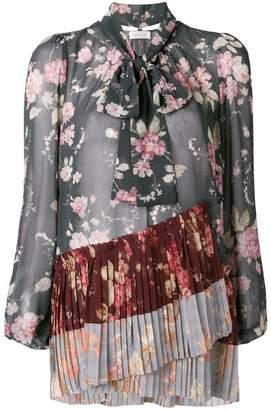 Zimmermann Unbridled pleated blouse