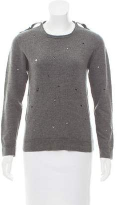 Gucci Distressed Long Sleeve Sweater