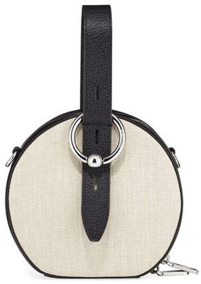 Rebecca Minkoff Kate Canvas Circle Top Handle Bag
