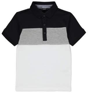 Panelled Polo Shirt