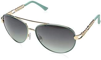 Rocawear Women's R566 GLDAQ Aviator Sunglasses