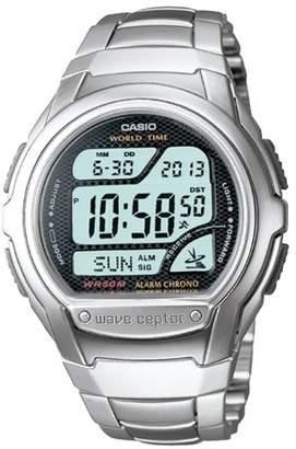 Casio Atomic Digital Watch Silver