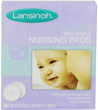 Lansinoh Ultra Soft Nursing Pads 36 Count (Pack of 8)