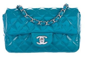 Chanel Patent Classic New Mini Flap Bag