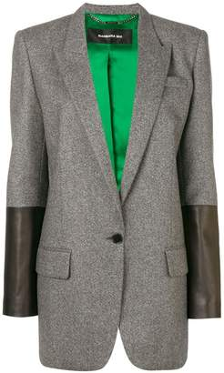 Barbara Bui contrast sleeve blazer