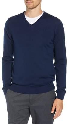 Bonobos Slim Fit V-Neck Merino Wool Sweater