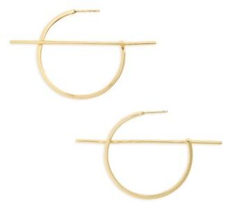 Women's Shashi Vera Hoop Earrings $51 thestylecure.com