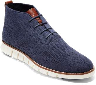 Cole Haan ZeroGrand Stitchlite Woven Wool Chukka Boot