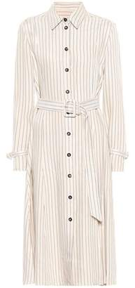 Altuzarra Fiona striped twill shirt dress