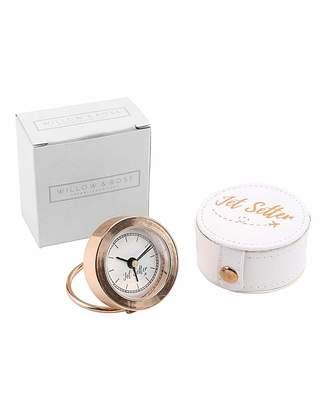 Fashion World W&R Jet Setter Rose Gold Alarm Clock