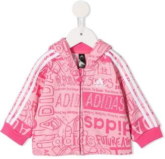 adidas Kids printed sweatshirt