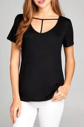 Active Basic T-strap tee