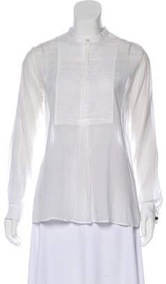 Golden Goose Sheer French Cuff Top