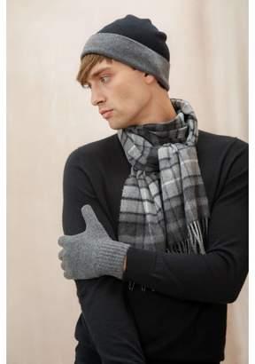 Johnstons of Elgin Granite Mens Cashmere Gloves
