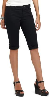 Chaps Women's Cuffed Twill Skimmer Shorts