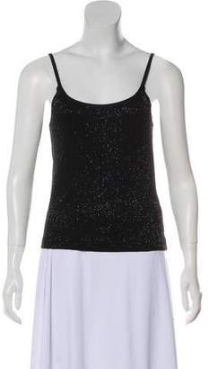 Ralph Lauren Black Label Embellished Sleeveless Top