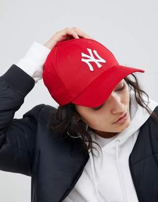 New Era NY 9Forty Red Cap