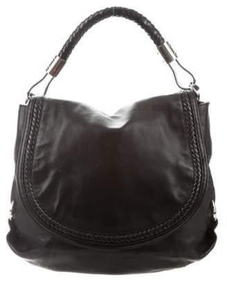Michael Kors Skorpios Leather Flap Bag