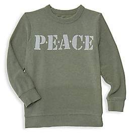 Chaser Little Boy's& Big Boy's Peace Sweater