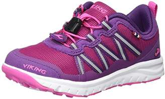 Viking Unisex Kids' Kollen Multisport Outdoor Shoes Pink Size: 2.5UK Child