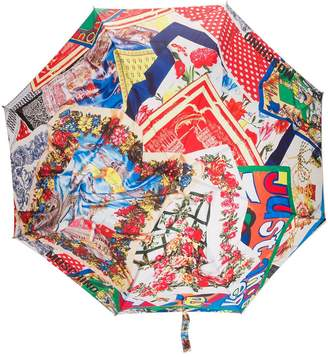 Moschino printed scarves umbrella
