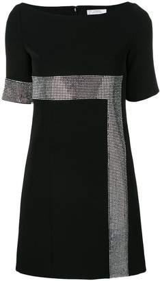 Versace shortsleeved embellished dress