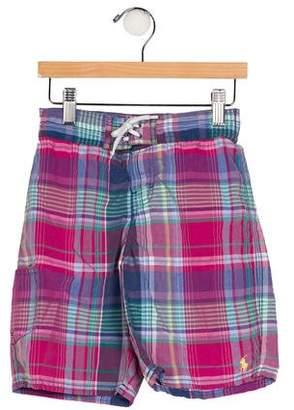 Polo Ralph Lauren Boys' Plaid Shorts