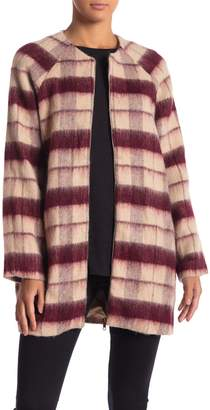 Sugar Lips Sugarlips Beverly Plaid Coat