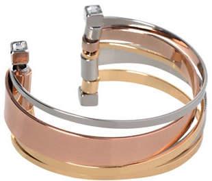 BCBGeneration Tri-Tone Core Cuff Bracelet