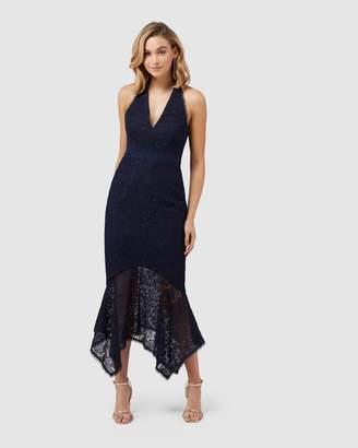 Forever New Tomeeka Halterneck Lace Midi Dress