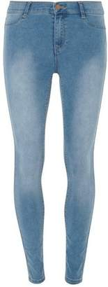 Dorothy Perkins Womens Blue 'Frankie' Super Skinny Jeans