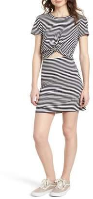 Socialite Knot Front Cutout Dress