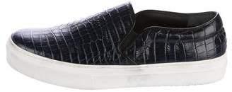 Celine Embossed Slip-On Sneakers
