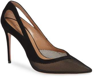 Aquazzura (アクアズーラ) - AQUAZZURA Cutout Mesh Pump