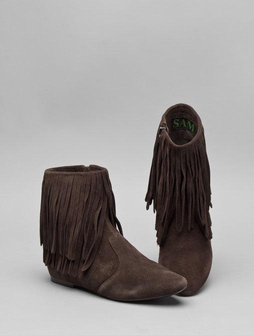 Sam Edelman Short Fringe Boot