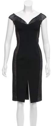 Nicholas Cold Shoulder Sheath Dress w/ Tags