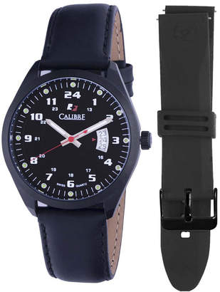 Calibre 40mm Men's Trooper Watch w/ Interchangeable Strap