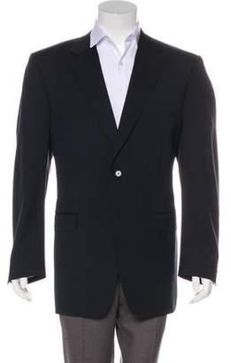 Canali Wool Two-Button Blazer