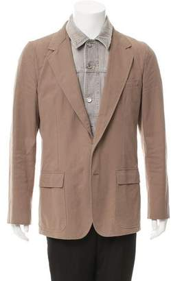 Dolce & Gabbana Layered Two-Button Blazer