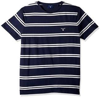 Gant Men's The Double Breton Short Sleeve T-Shirt