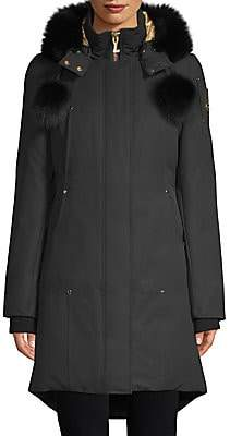 Moose Knuckles Women's Governor Lake Fox Fur Down Parka