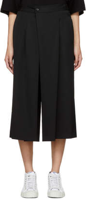Y's Ys Black Tuck Trousers