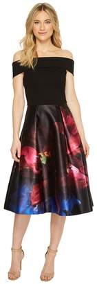 Ted Baker Kimey Impressionist Bardot Dress Women's Dress